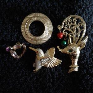Jewelry - *Vintage* Pins $12 each